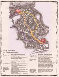 Map Of Magic Kingdom Orlando by Fort Wilderness