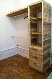 How To Make A Wood Shelving Unit by The 25 Best Clothes Storage Ideas On Pinterest Clothing Storage