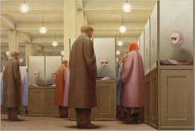 government bureau george tooker bureaus tempera and metropolitan museum