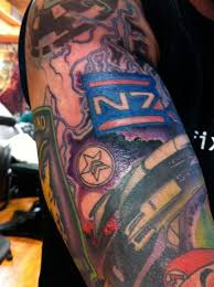 15 video game tattoos on half sleeve