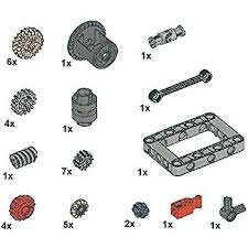 technic pieces amazon com technic gears and transmission parts pack toys games