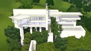 unique modern hillside house plans modern house design small