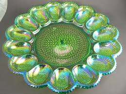 carnival glass egg plate 266 best deviled dishes images on boiled eggs deviled