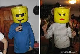 Lego Halloween Costume Pondokkie Lego Head Halloween Costume