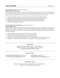 interior designer resume sample interior designer cover letter