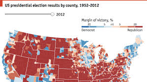 Election Map 2012 by A History Of Red And Blue