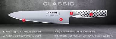 kitchen knife collection global knives
