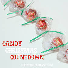 easy candy christmas countdown diy so festive