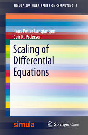 scaling of differential equations simula