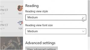 Size For Business Cards Change Font Style And Size For Reading View In Microsoft Edge