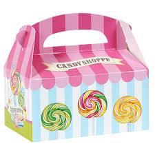 candy containers for favors candy shoppe empty favor boxes birthdayexpress