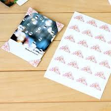 photo albums for kids 144pcs lot 6 sheets beautiful paper corner stickers home decor