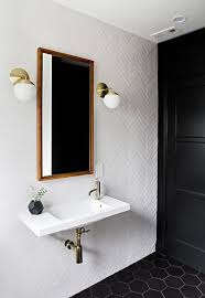 Gray And Black Bathroom Ideas Best 25 Black Bathroom Floor Ideas On Pinterest Powder Room