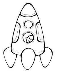 astronaut rocket space coloring pages space