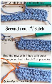 crochet pattern using star stitch my hobby is crochet crochet star stitch variation star stitch