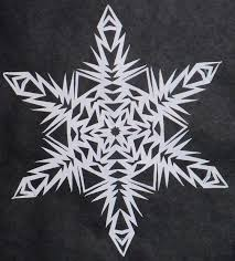 the 25 best paper snowflakes ideas on paper