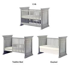 Convert Crib To Daybed by Baby Cache Vienna Island 3 In 1 Convertible Crib Ash Gray Toys
