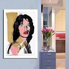 aliexpress com buy qcart painting modern pop art famous star