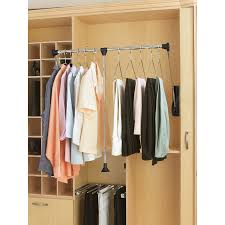 Closet Accessories Shop Rev A Shelf Large Pull Down Rod At Lowes Com