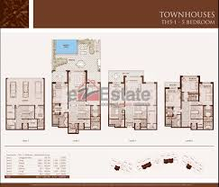 Palm Jumeirah Floor Plans by 5 Bedroom Aparment Floor Plans Fujizaki