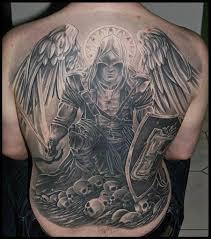 japanese tattoo sleeve angel wings back tattoo designs female