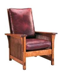 stickley morris chair recliner chair recliner compact spindle