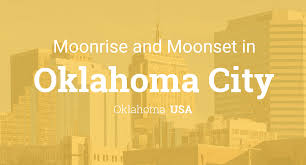 Zip Code Map Okc Moonrise Moonset And Moon Phase In Oklahoma City