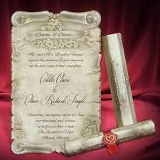 wedding invitations miami scroll wedding invitation card personalized beautiful invitations