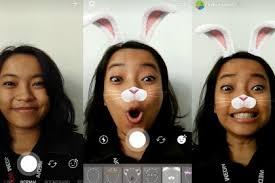bikin video animasi snapchat stories pakai face stiker ala snapchat ini caranya