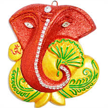 buy ganpati wall hanging diwali gift home decor free shipping