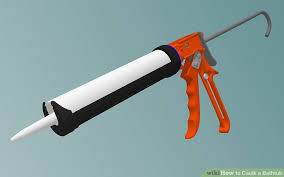 Bathtub Gun How To Caulk A Bathtub 10 Steps With Pictures Wikihow