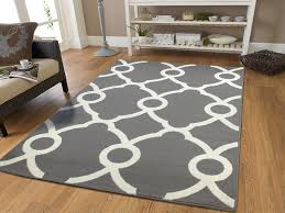 Large Modern Rug Large Moroccan Style Modern Rug For Living Room White