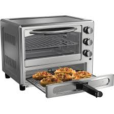Oster Toaster Oven Tssttvdfl1 Oster Convection Oven With Pizza Drawer Silver Walmart Com