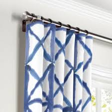 Blue Window Curtains Blue Window Curtains Custom Drapes More Loom Decor