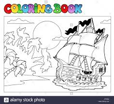 colour vessel paint boat painted ship colouring book rowing boat
