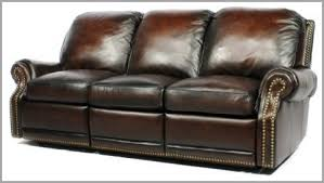 Traditional Leather Sofa Purchase Barcalounger Premier Reclining