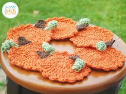tea time pumpkin coasters free pdf crochet pattern irarott inc