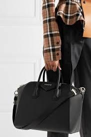 Givenchy Antigona Cowhide Givenchy Medium Antigona Bag In Black Leather Net A Porter Com