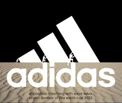 adidas proudly supports qatar u0027s efforts to kill thousands of
