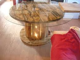 best 25 cable reel table ideas on cable reel wooden