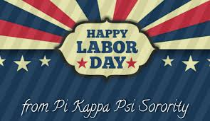 Phi Kappa Psi Flag Wishing Everyone A Happy And Safe Labor Day From The Goddesses Of