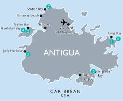 Antigua Map Vax Vacationaccess Destination Detail