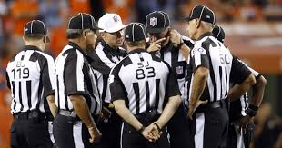 Football Penalty Flags Bell Tolls Nfl Refs Ruining Games With Absurd Penalties