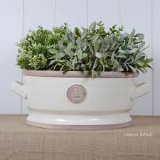 Low Bowl Planters by Kew Garden Pots From The Royal Botanic Gardens Collection Of Plant