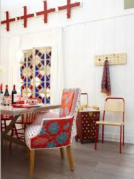 Eclectic Dining Room Chairs Red And Chocolate Milk Accents House Pinterest Sarah