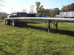 2009 trailstar flat 48ft trailer aluminum flat bed trailer