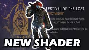destiny halloween superblack shader how to get festival of the