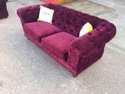 Purple Velvet Chesterfield Sofa Lovely Original Purple Crushed Velvet Chesterfield Sofa Aherns