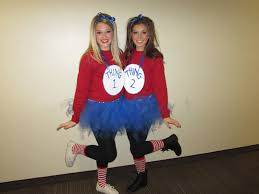 homemade halloween costumes for teenage girls collection thing 1 and thing 2 halloween costume pictures images