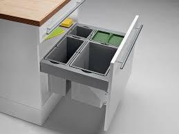 mülltrennsystem küche abfalltrennung küchenschrank küchengestaltung kleine küche